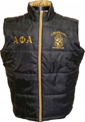 View Buying Options For The Alpha Phi Alpha Mens Vest
