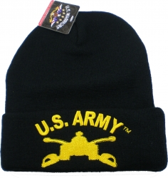 View Buying Options For The U.S. Army Armor Badge Cuff Beanie Cap