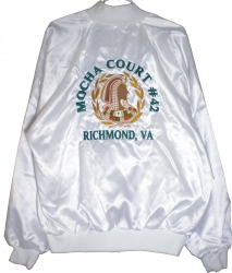 View Buying Options For The Daughters of Isis Mocha Court #42 Richmond Ladies Satin Jacket