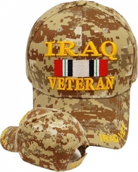 View Buying Options For The Iraq Veteran Ribbon Mens Cap