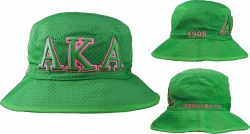 View Buying Options For The Alpha Kappa Alpha Embroidered Bucket Hat