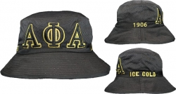 View Buying Options For The Alpha Phi Alpha Embroidered Bucket Hat