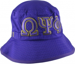 View Buying Options For The Omega Psi Phi Embroidered Bucket Hat