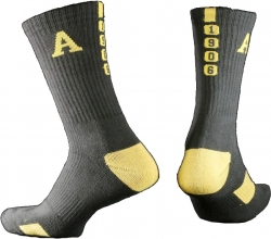 View Buying Options For The Alpha Phi Alpha Greekfeet Mens Athletic Dri-Fit Crew Socks