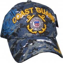 View Buying Options For The Coast Guard Logo Shadow Mens Cap