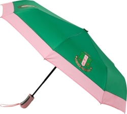 View Buying Options For The Alpha Kappa Alpha Mini Auto Up/Down Compact Umbrella