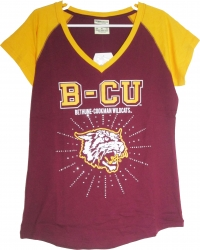 View Buying Options For The Bethune-Cookman Wildcats Rhinestone Ladies Tee