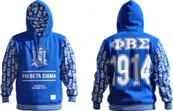 View Buying Options For The Phi Beta Sigma Divine 9 S2 Pullover Mens Hoodie