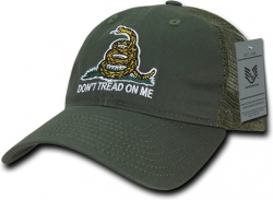 View Buying Options For The RapDom Gadsden Flag Polo Mens Mesh Back Cap