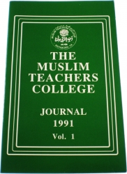 View Buying Options For The The Muslims Teachers College Journal 1991 Vol. 1