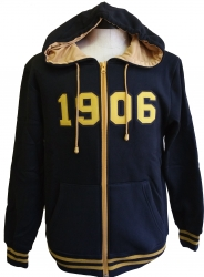View Buying Options For The Alpha Phi Alpha 1906 Applique Zip-Up Mens Hoodie