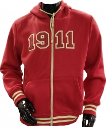 View Buying Options For The Kappa Alpha Psi 1911 Applique Zip-Up Mens Hoodie