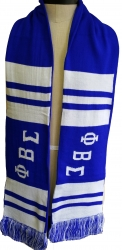 View Buying Options For The Phi Beta Sigma 2-Ply Mens Knit Scarf