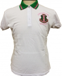 View Buying Options For The Alpha Kappa Alpha Polo Golf Womens Tee