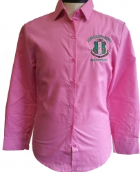 View Buying Options For The Alpha Kappa Alpha Button Down Collar Ladies Shirt