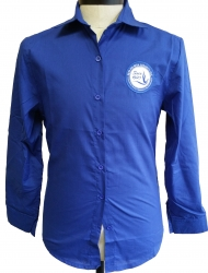 View Buying Options For The Zeta Phi Beta Button Down Collar Ladies Shirt