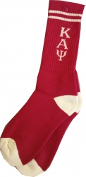 View Buying Options For The Kappa Alpha Psi Mens Long Crew Socks