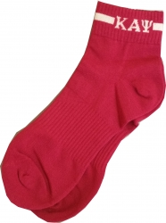 View Buying Options For The Kappa Alpha Psi Footie Socks