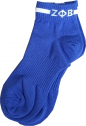 View Buying Options For The Zeta Phi Beta Footie Socks