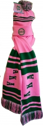 View Buying Options For The Alpha Kappa Alpha Knit Beanie Cap & 2-Ply Scarf Set