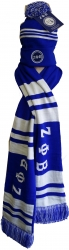 View Buying Options For The Zeta Phi Beta Ladies Knit Beanie Skull Cap & 2-Ply Scarf Set