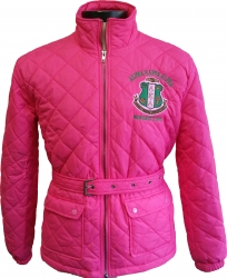 View Buying Options For The Alpha Kappa Alpha Quilted Belt Ladies Riding Jacket