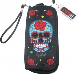 View Buying Options For The Blue Sugar Skull Girls Wallet