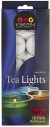 View Buying Options For The Kerzen Unscented Tea Light Candle [Pre-Pack]