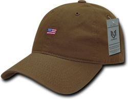 View Buying Options For The RapDom Small USA Flag Graphic Relaxed Mens Cap