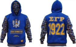 View Buying Options For The Sigma Gamma Rho Divine 9 S2 Pullover Ladies Hoodie