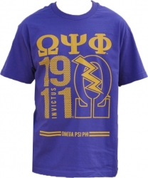 View Buying Options For The Omega Psi Phi Divine 9 S11 Mens Tee