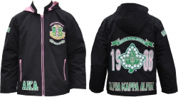 View Buying Options For The Alpha Kappa Alpha Divine 9 S3 Ladies Hooded Windbreaker Jacket