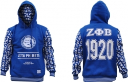 View Buying Options For The Zeta Phi Beta Divine 9 S2 Pullover Ladies Hoodie