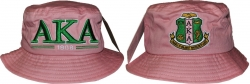 View Buying Options For The Alpha Kappa Alpha Divine 9 S3 Ladies Bucket Hat