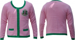 View Buying Options For The Alpha Kappa Alpha Divine 9 Heavy Weight Ladies Cardigan