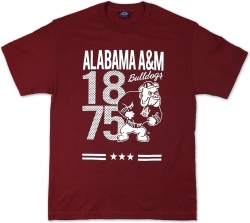 View Buying Options For The Alabama A&M Bulldogs S7 Mens Tee