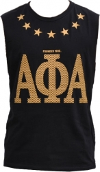 View Buying Options For The Alpha Phi Alpha Divine 9 Mens Tank Top