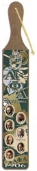 View Buying Options For The Alpha Phi Alpha Founders Acrylic Topped Pattern Back Wood Paddle