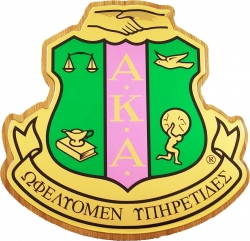 View Buying Options For The Alpha Kappa Alpha Domed Wood Shield Wall Plaque