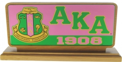 View Buying Options For The Alpha Kappa Alpha Domed Desktop Piece