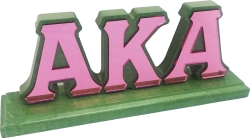 View Buying Options For The Alpha Kappa Alpha Mirror Letters Desktop Piece