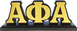 View Buying Options For The Alpha Phi Alpha Mirror Letters Desktop Piece