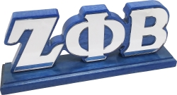 View Buying Options For The Zeta Phi Beta Mirror Letters Desktop Piece