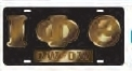 View Buying Options For The Iota Phi Theta Ow-Ow Mirror Insert Car Tag License Plate