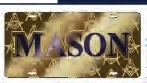 View Buying Options For The Mason Ghost Back Symbol Car Tag License Plate