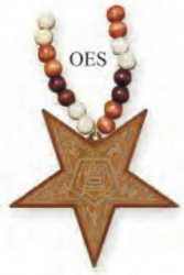 View Buying Options For The Eastern Star Laser Engraved Symbol Wood Bead Tiki Necklace