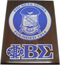 View Buying Options For The Phi Beta Sigma Circle Shield Wooden Wall Plaque