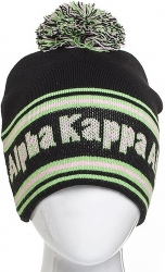 View Buying Options For The Alpha Kappa Alpha Sorority Signature Ladies Beanie