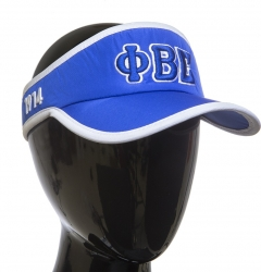 View Buying Options For The Phi Beta Sigma Featherlight Visor