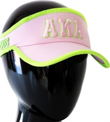View Buying Options For The Alpha Kappa Alpha Featherlight Ladies Visor